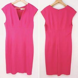 Trina Turk | Pink Sleeveless Sheath Dress Sz Large